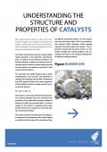 Understanding the structure and properties of catalysts